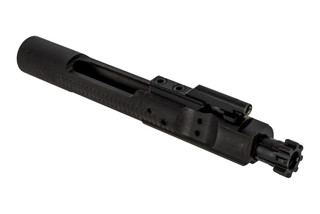 ALG Defense M16 bolt carrier group with manganese phosphate finish features a properly staked gas key.