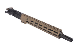 Geissele Automatics 14.5in USASOC Upper Receiver Group Improved complete AR-15 Upper with Desert Dirt MK16 M-LOK rail
