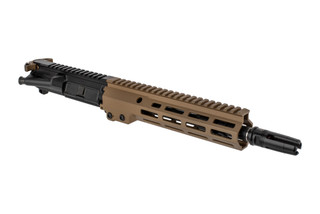 The Geissele Automatics USASOC near clone complete AR15 upper receiver group features a 10.3 cold hammer forged barrel