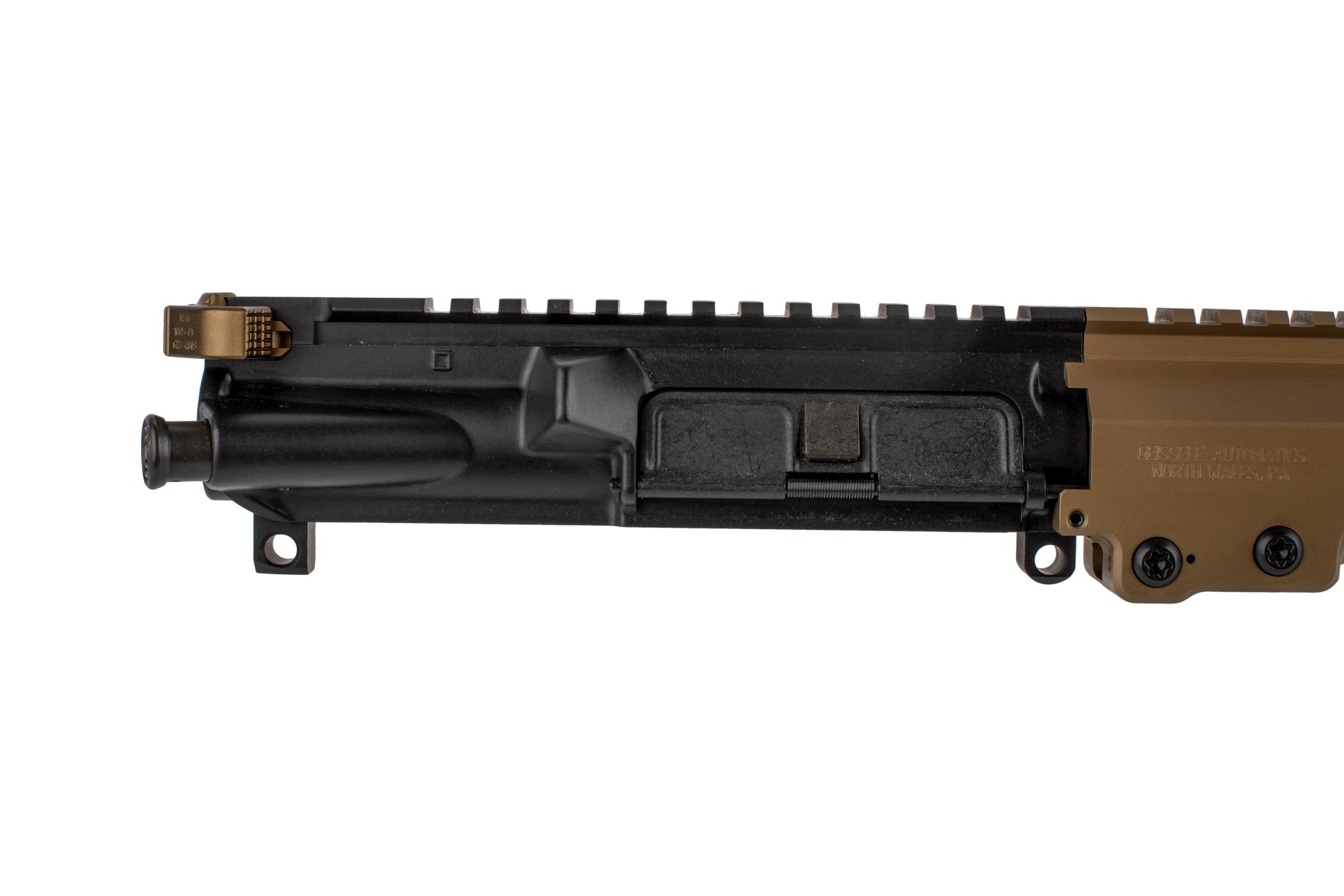 The Geissele AR15 URGI features a Mil-Spec M4 flat top upper receiver