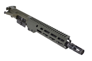 Geissele Automatics Super Duty Complete AR15 upper receiver features an OD green finish