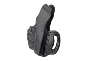 DeSantis Thumb Break Mini Slide Holster for Sig P365/P365XL features black leather construction