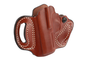 DeSantis Mini Slide P365 Holster is made from brown leather