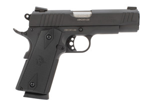 Taurus 1911 commander pistol is chambered in 45 ACP