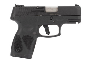 Taurus G2S Sub Compact 9mm Pistol features a 7 round capacity and flush fit magazine