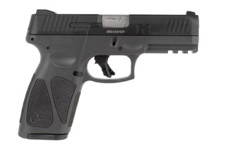 Taurus G3 9mm pistol features a gray polymer frame