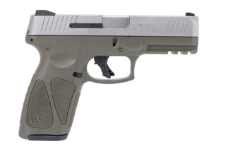 Taurus USA G3 9mm Pistol features an OD Green frame and Stainless slide