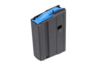 The Ammunition Storage Components 6.5 Grendel magazine holds 10 rounds and is made of steel