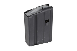 The Ammunition Storage Components 6.8 SPC magazine holds 10 rounds of ammo in it's steel body