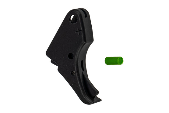 Apex Tactical Shield 45 trigger features a black anodized finish
