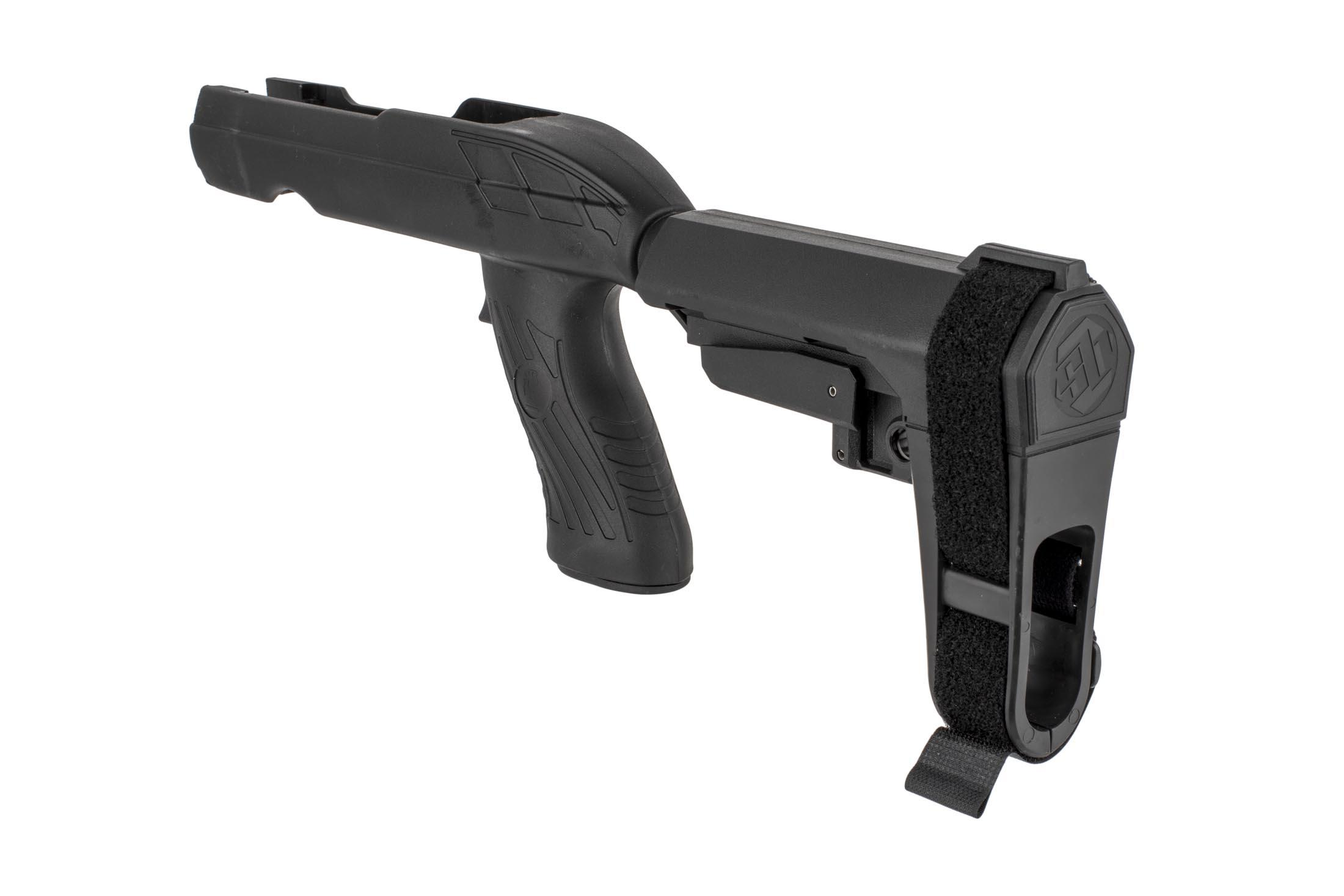 The SB Tactical Charger Takedown 1022 pistol brace kit is highly versatile and easy to use
