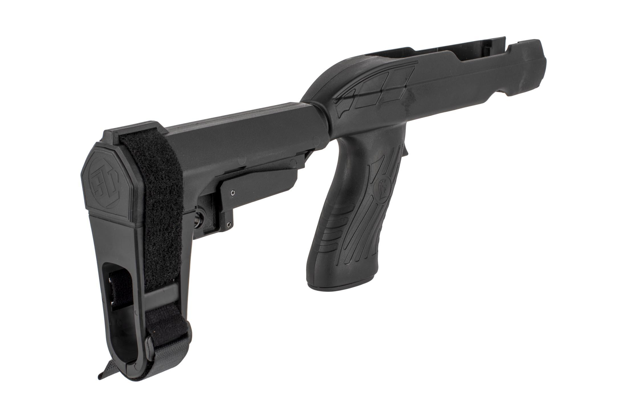 The SBA3 SB Tactical Ruger charger stock is made from reinforced polymer