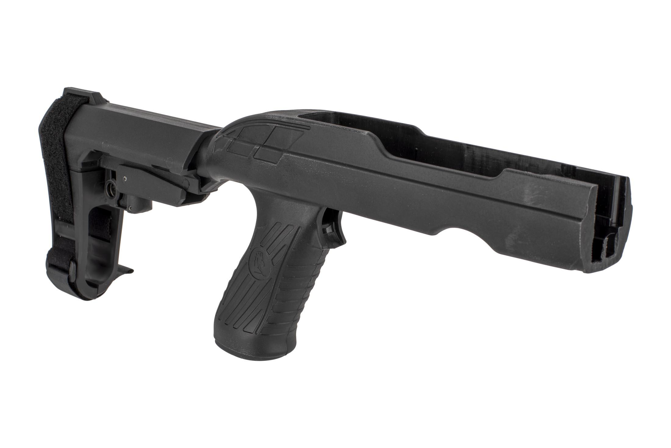 The SB Tactical SBA3 22 Charger take down pistol arm brace kit is compatible with most barrel contours