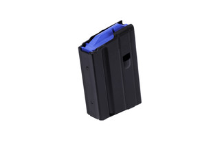 The C Products 6.5 Grendel Magazine holds 10 rounds and is made from stainless steel