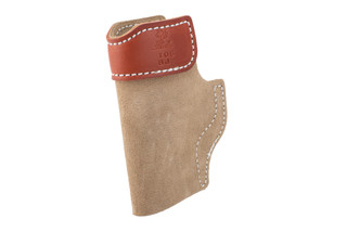 DeSantis SOF-TUCK p365 holster is made from leather