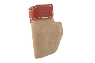 DeSantis SOF-Tuck leather holster is designed for sub compact handguns
