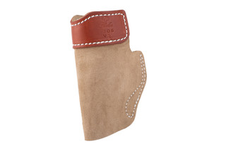 SOF-TUCK IWB Holster fits Ruger EC9/Springfield XDS Right Hand in Tan from DeSantis features suede material