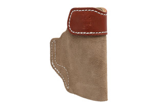 DeSantis SOF-TUCK IWB Left Hand Holster for Glock 26/Springfield XDS in Tan
