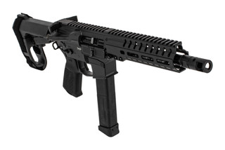 "CMMG Banshee 300 MK10 AR pistol in 10mm auto with 8"" barrel and graphite black finish"
