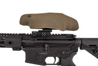 The FDE Scopecoat optic cover is made from 3mm thick Neoprene and sized for small scopes