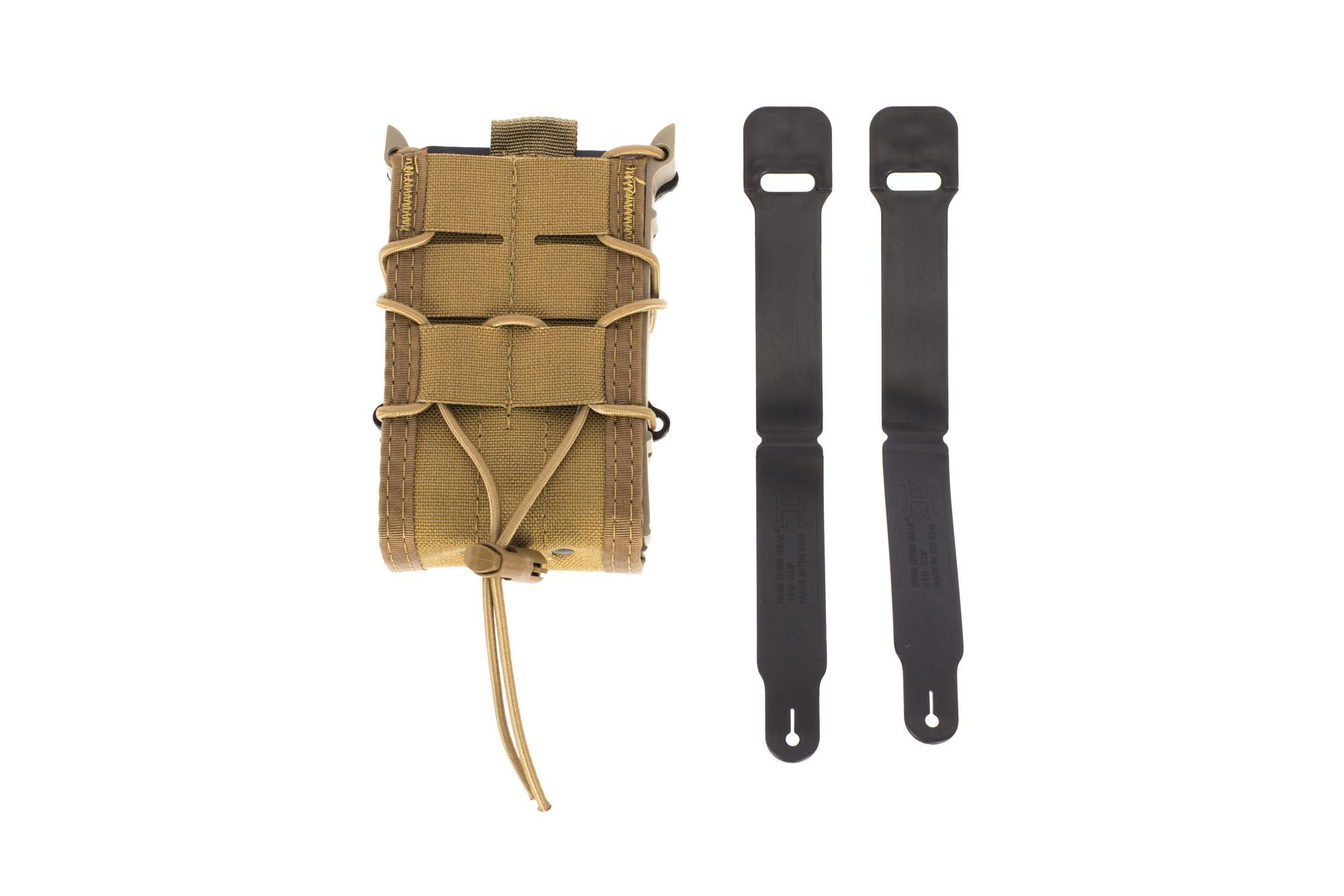 High Speed Gear X2R TACO Magazine Pouch MOLLE - Coyote Brown