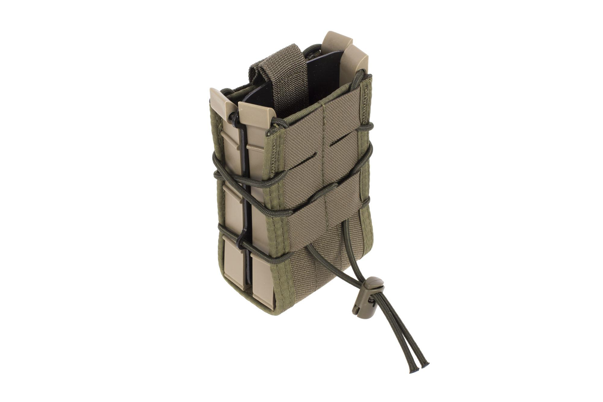 High Speed Gear X2R TACO Double Rifle Mag Pouch MOLLE Olive Drab Green