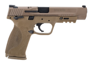 Smith & Wesson M&P9 m2.0 9mm pistol comes in flat dark earth