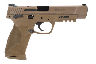 Smith and Wesson M&P 2.0 40SW pistol in flat dark earth