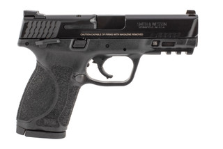 Smith and Wesson M&P 2.0 40 S&W pistol with thumb safety