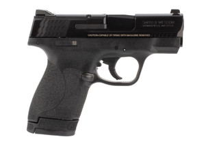 Smith and Wesson M&P Shield 2.0 40 S&W subcompact pistol features a 7 round mag
