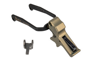 Apex Tactical FNS Trigger Kit features a flat dark earth anodized finish