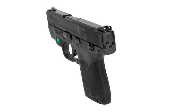 S&W M&P Shield 9mm sub compact pistol features an 8 round mag