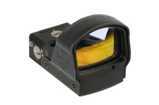 The Leupold DeltaPoint Pro 2.5 MOA red dot sight features clear glass and a large field of view