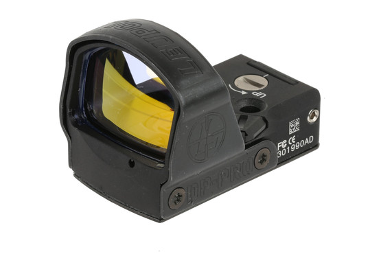 The Leupold DeltaPoint Pro reflex sight features motion sensing technology