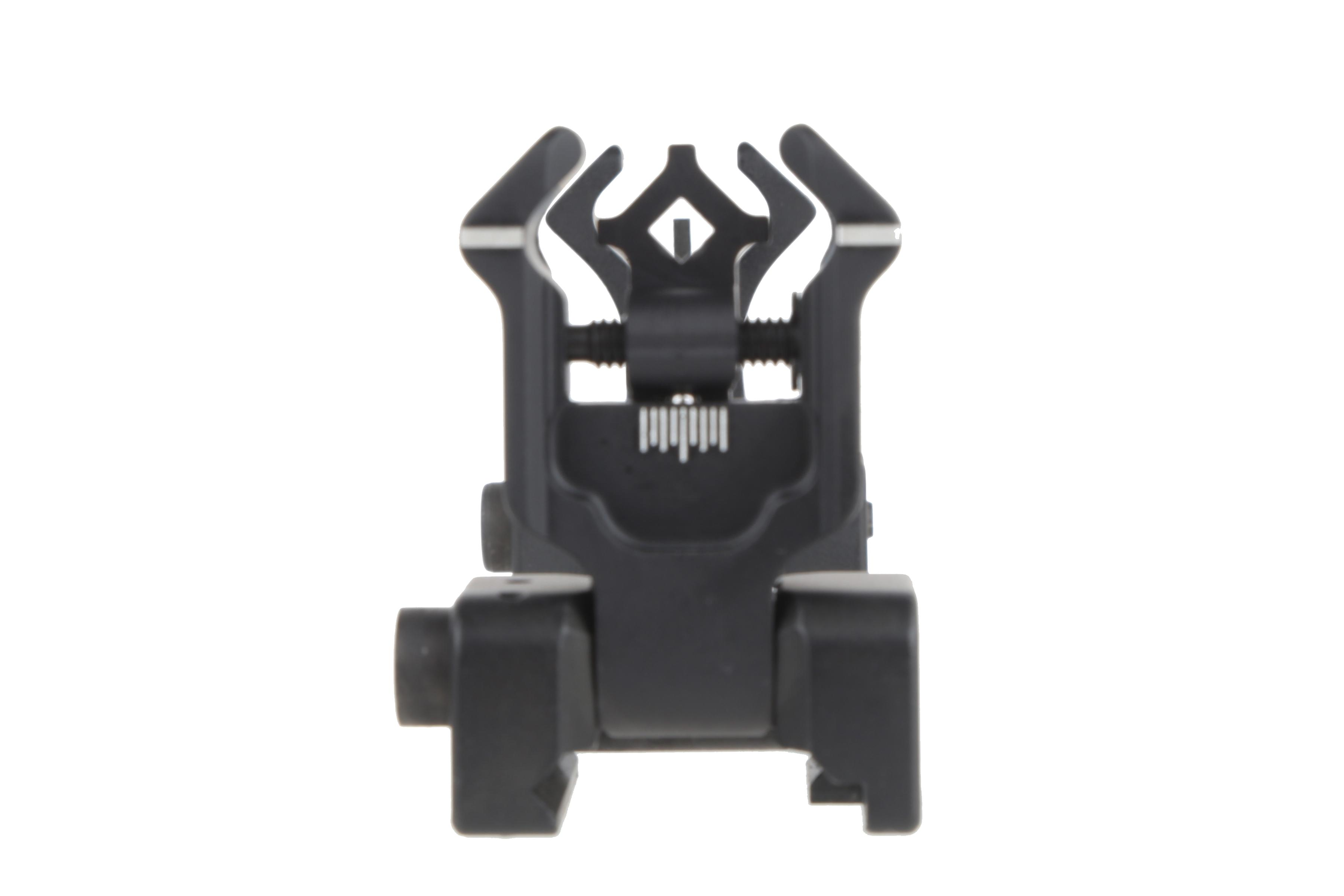 The Diamondhead Diamond integrated flip up sights offer fast target acquisition