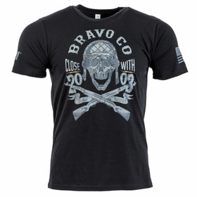 Bravo Company Skull Honour t-shirt from the front