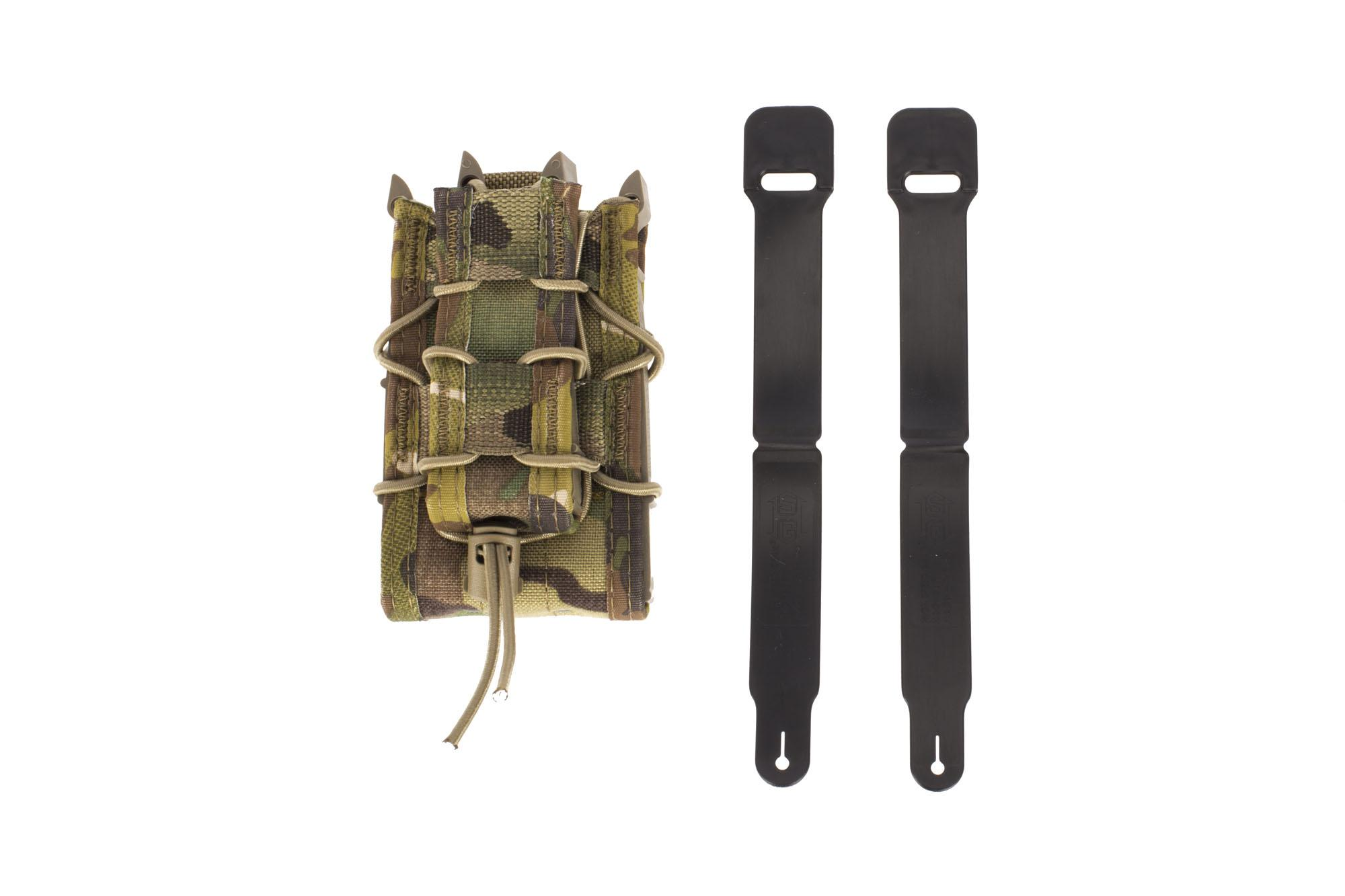 High Speed Gear Double Decker TACO Magazine Pouch MOLLE - MultiCam