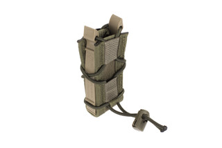 The High Speed Gear TACO single pistol magazine pouch is designed to be used with MOLLE attachment systems