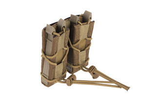 High Speed Gear Double Pistol Magazine Pouch MOLLE Coyote Brown