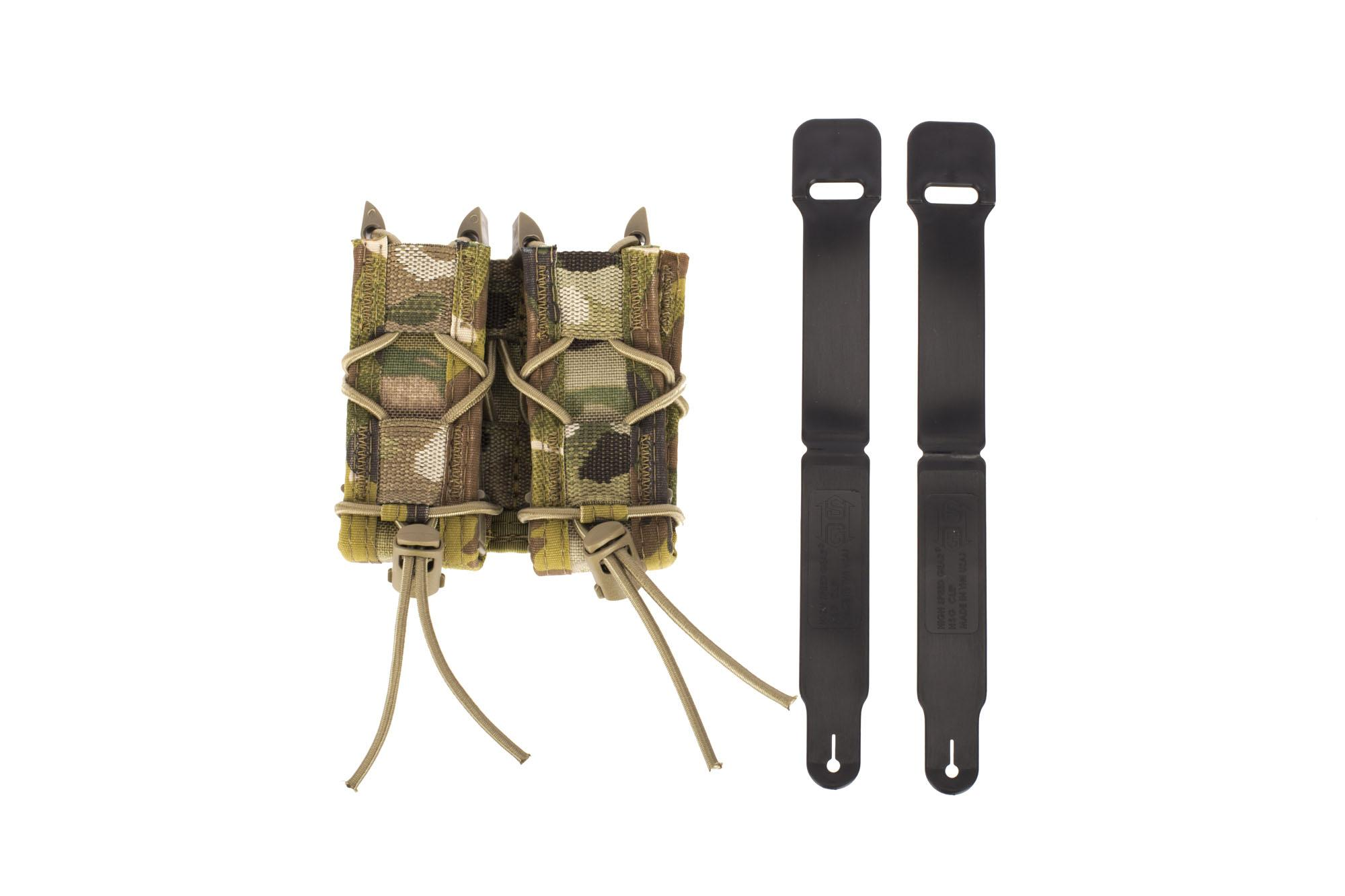 High Speed Gear Double Pistol TACO Magazine Pouch MOLLE - MultiCam