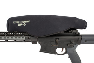 The Scopecoat XP-6 X-Large scope cover features a 6mm thick Neoprene material for optimal protection