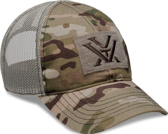 MultiCam Counterforce Cap from Vortex has a patch logo