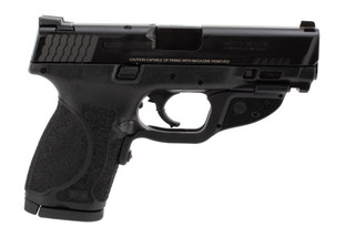 Smith and Wesson M&P 40 compact 2.0 pistol features a laser grip module
