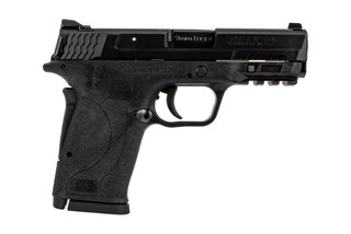 Smith and Wesson M&P9 EZ Shield sub compact 9mm pistol without manual safety features a grip safety