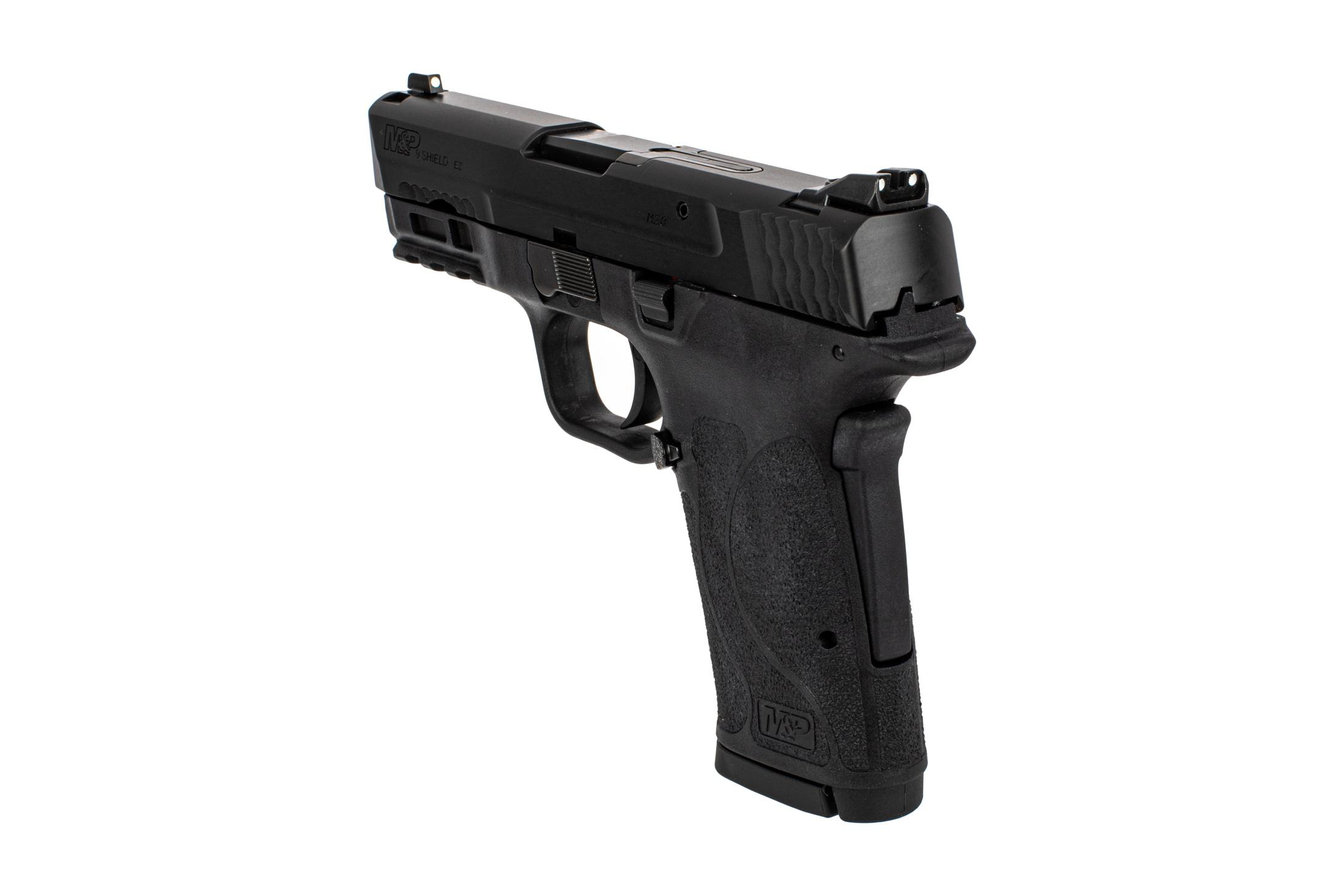 Smith & Wesson M&P 9 Shield EZ subcompact pistol without safety features steel sights