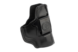 DeSantis Inside Heat M&Pc holster is made from leather
