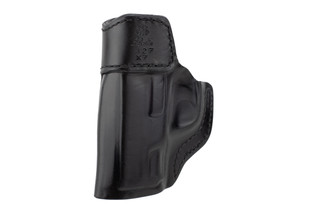 DeSantis Inside Heat IWB Holster for S&W Shield has black leather construction