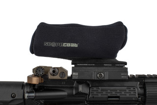 The Scopecoat Trijicon cover is designed for the TA-01 4x32 model with iron sights