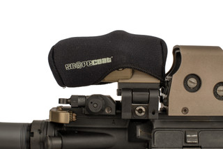 The Scopecoat black neoprene cover is made to fit the EOTech G33 and Vortex VMX-3T magnifiers