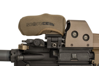 The FDE Scopecoat cover for EOTech and Vortex magnifiers is made from 3mm thick Neoprene